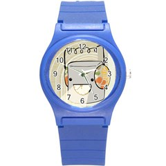 Happy Beam Plastic Sport Watch (small) by RachelIsaacs