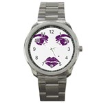 Beauty Time Sport Metal Watch Front