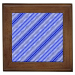 Lines Framed Ceramic Tile by Siebenhuehner