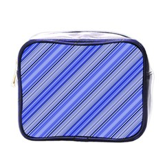 Lines Mini Travel Toiletry Bag (one Side) by Siebenhuehner
