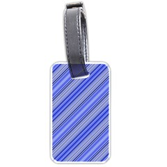Lines Luggage Tag (two Sides) by Siebenhuehner