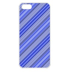 Lines Apple Iphone 5 Seamless Case (white) by Siebenhuehner