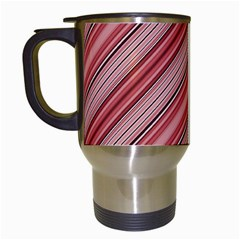 Lines Travel Mug (white) by Siebenhuehner