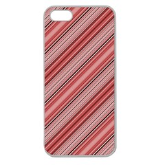 Lines Apple Seamless Iphone 5 Case (clear) by Siebenhuehner