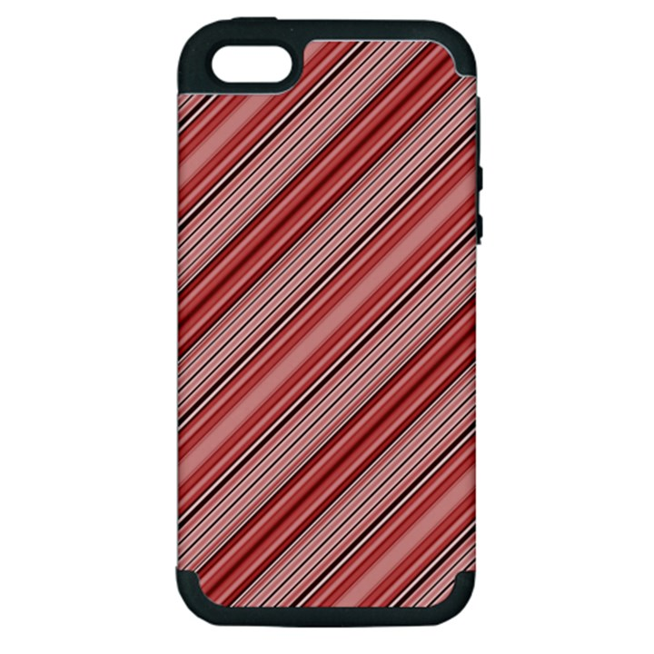 Lines Apple iPhone 5 Hardshell Case (PC+Silicone)