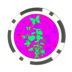 Butterfly Poker Chip (10 Pack)