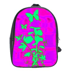 Butterfly School Bag (xl) by uniquedesignsbycassie