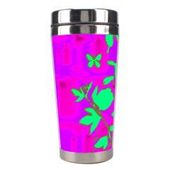 Butterfly Stainless Steel Travel Tumbler