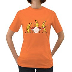 Bandana Banana Band Womens' T Shirt (colored)