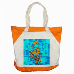 Butterfly Blue Accent Tote Bag by uniquedesignsbycassie