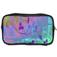 Floral Multicolor Travel Toiletry Bag (two Sides) by uniquedesignsbycassie