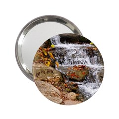 Waterfall Handbag Mirror (2 25 ) by uniquedesignsbycassie