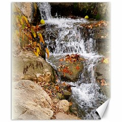 Waterfall Canvas 8  X 10  (unframed) by uniquedesignsbycassie