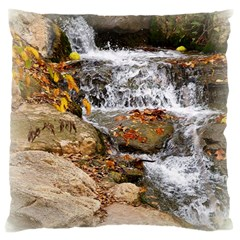 Waterfall Large Cushion Case (single Sided)  by uniquedesignsbycassie