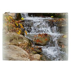 Waterfall Cosmetic Bag (xxl) by uniquedesignsbycassie