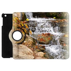 Waterfall Apple Ipad Mini Flip 360 Case by uniquedesignsbycassie