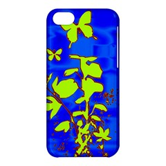 Butterfly Blue/green Apple Iphone 5c Hardshell Case