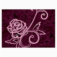 Rose Canvas 24  X 36  (unframed)