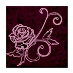 Rose Face Towel Front