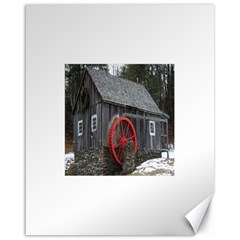 Vermont Christmas Barn Canvas 16  X 20  (unframed) by plainandsimple