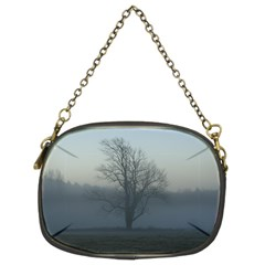 Foggy Tree Chain Purse (two Sided)  by plainandsimple
