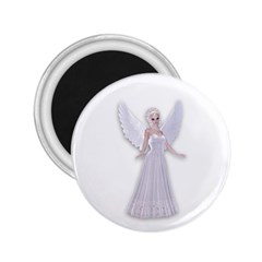 Beautiful Fairy Nymph Faerie Fairytale 2 25  Button Magnet by goldenjackal