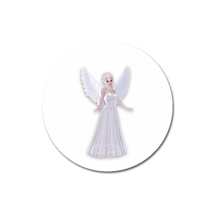 Beautiful fairy nymph faerie fairytale Magnet 3  (Round)