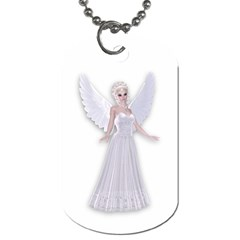 Beautiful Fairy Nymph Faerie Fairytale Dog Tag (two-sided)