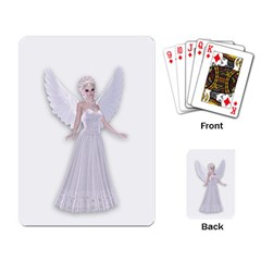 Beautiful Fairy Nymph Faerie Fairytale Playing Cards Single Design by goldenjackal