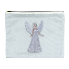 Beautiful Fairy Nymph Faerie Fairytale Cosmetic Bag (xl) by goldenjackal