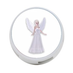 Beautiful Fairy Nymph Faerie Fairytale 4 Port Usb Hub (two Sides) by goldenjackal