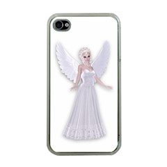 Beautiful Fairy Nymph Faerie Fairytale Apple Iphone 4 Case (clear) by goldenjackal