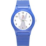 Beautiful fairy nymph faerie fairytale Plastic Sport Watch (Small) Front