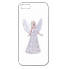 Beautiful Fairy Nymph Faerie Fairytale Apple Seamless Iphone 5 Case (clear) by goldenjackal