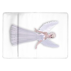 Beautiful Fairy Nymph Faerie Fairytale Samsung Galaxy Tab 10 1  P7500 Flip Case by goldenjackal