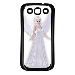 Beautiful Fairy Nymph Faerie Fairytale Samsung Galaxy S3 Back Case (black) by goldenjackal