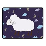 Time to dream  Fleece Blanket (Small) 50 x40  Blanket Front