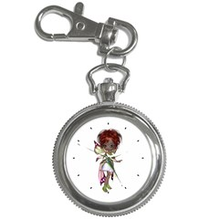 Fairy Magic Faerie In A Dress Key Chain & Watch by goldenjackal