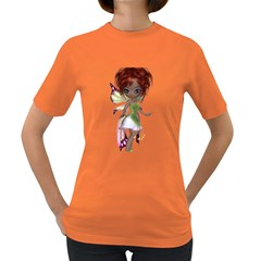 Fairy Magic Faerie In A Dress Womens' T Shirt (colored)