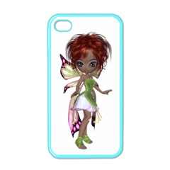 Fairy Magic Faerie In A Dress Apple Iphone 4 Case (color) by goldenjackal