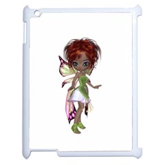 Fairy Magic Faerie In A Dress Apple Ipad 2 Case (white) by goldenjackal
