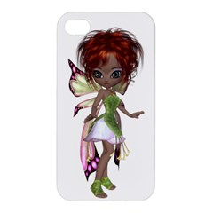 Fairy Magic Faerie In A Dress Apple Iphone 4/4s Hardshell Case by goldenjackal