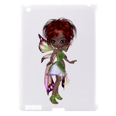 Fairy Magic Faerie In A Dress Apple Ipad 3/4 Hardshell Case (compatible With Smart Cover) by goldenjackal