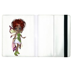 Fairy Magic Faerie In A Dress Apple Ipad 2 Flip Case by goldenjackal