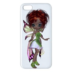 Fairy Magic Faerie In A Dress Iphone 5 Premium Hardshell Case by goldenjackal