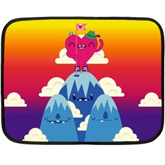 Love On Top Mini Fleece Blanket (single Sided) by Contest1771648