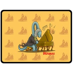 Bachiosaurus Fleece Blanket (extra Large) by Contest1732250