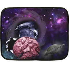 Thy Planet Is Mine! Mini Fleece Blanket (two Sided) by Contest1732250