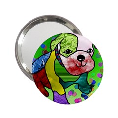 Pug Handbag Mirror (2 25 ) by Siebenhuehner