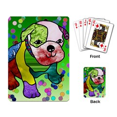 Pug Playing Cards Single Design by Siebenhuehner